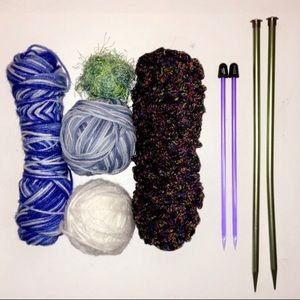 Other - Yarn and Knitting Needles